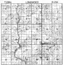 Illinois Map By County by Index To Plat Maps Of Longwood Township Clark Co Wis