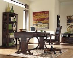 Office Table And Chair Set by Signature Design By Ashley Devrik Home Office Desk Chair With