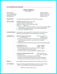 resume objective exles general accountant roles allocation resume exles for accounting accounting student resume student