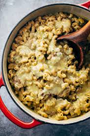 steak and cheddar mac and cheese recipe pinch of yum