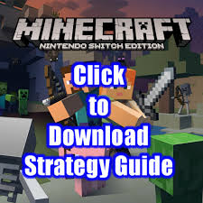 minecraft nintendo switch edition free strategy guide download pdf