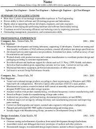Qa Automation Engineer Resume Download Qa Test Engineer Sample Resume Haadyaooverbayresort Com