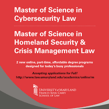 list of master of science m s in cybersecurity degree