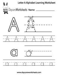 preschool letter tracing worksheets for writing time alphabet