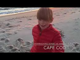 mahalo thanksgiving sunset cape cod