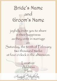 wedding programs wording exles wedding invitation wording sles wedding invitation wording