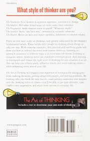 the art of thinking the classic guide to increasing brain power