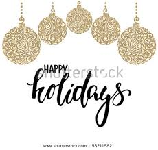 happy holidays free vector stock graphics images