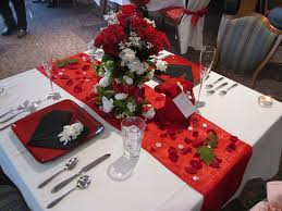 Valentine Dinner Table Decorations Aca Budget Friendly Table Settings Valentine U0027s Day Flickr