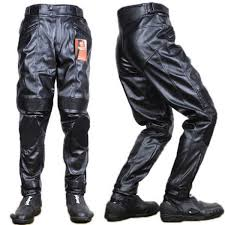 leather motorcycle pants men motorcycle racing pu leather pants trousers for duhan dk 015