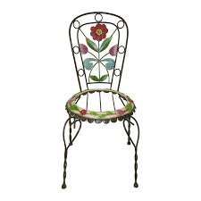 Southern Patio Shop Southern Patio Jim Shore Chair Planter At Lowes Com