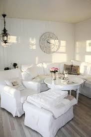 beautiful flowers and shabby chic ideas for white living room