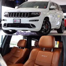 Jeep Grand Cherokee Srt Interior Best 25 White Jeep Grand Cherokee Ideas On Pinterest Jeep Grand