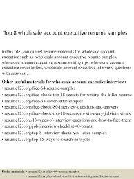 account executive resume example