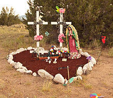 roadside crosses roadside memorial