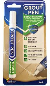 How To Get Bathroom Grout White Again - rainbow grout pen clean whiten or recolour your tiles