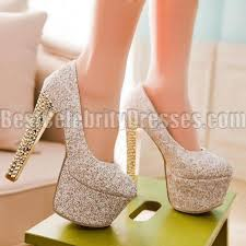 wedding shoes chunky heel women s shoes fashion design silver wedding shoes discount