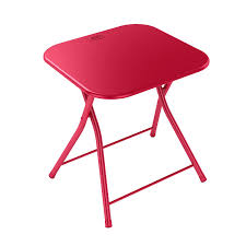 Folding Table Amazon Com Dar Living Folding Table With Handle Red Kitchen