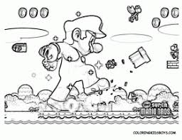 super mario 3d land coloring pages print 3d coloring pages
