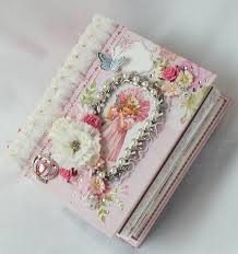 baby girl scrapbook album kaisercraft true girl shabby baby scrapbook