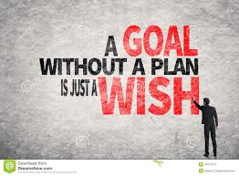 design a plan a goal without a plan is just a wish stock photo image 48772277