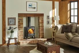 wood burning wall stovax stockton 5 wood burning multi fuel stoves