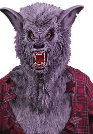 halloween costumes werewolf werewolf mask grey palmer escapade uk