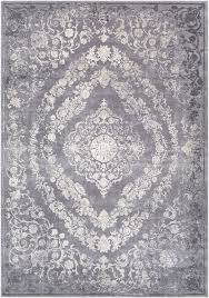Grey Area Rugs Charlton Home Thissell Vintage Persian Medallion Gray Area Rug