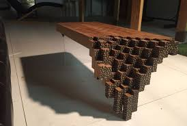 the brick coffee tables falling brick coffee table inspired by minecraft video game