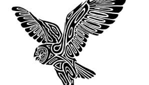 black ink new release tribal owl tattoo design u2013 truetattoos