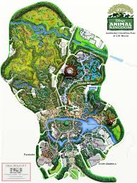 Map Of Animal Kingdom Ideal Buildout Animal Kingdom