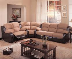 Reclining Sofa Microfiber by Elegant Leather Sectional Sofa With Recliner Awesome Sofa