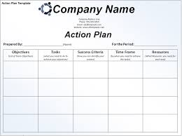 Business Work Plan Template smart plan sle and template for business or office