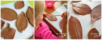 arts and crafts ideas for home decor clay autumn leaves u2013 fall crafts for kids our little house in