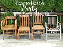 how to host a party in a small house melissa kaylene