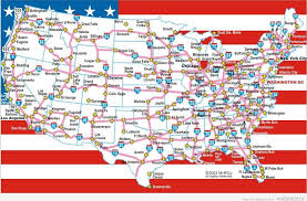 road map usa maps of the united states with cities interstate map of usa with