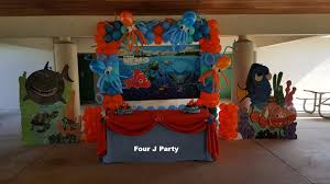 finding nemo decorations and finding dory