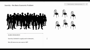 scarcity the basic economic problem youtube