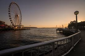 Hamilton Viewpoint Park West Seattle Washington by Five Spots For Beautiful Sunsets Parkways