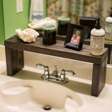 Bathroom Counter Shelves Remarkable Bathroom Counter Organizer Wicker Countertop Of