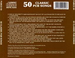 50 classic pub songs various artists songs reviews credits