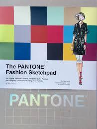 pantone fashion sketchbook