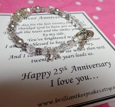 silver anniversary gifts 25th wedding anniversary poems for my husband 25th wedding