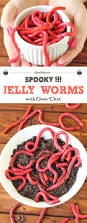 jelly worms with oreo dirt cakescottage