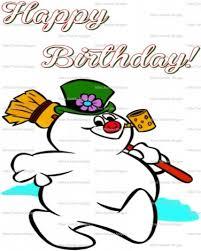 Frosty The Snowman Happy Birthday Meme - frosty the snowman clipart happy birthday collection