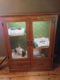 repurposing furniture rabbit hutch ideas made from repurposed furniture diy rabbit hutch