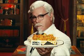kfc makes out of a chicken in u k ad by