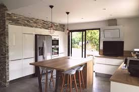 cuisine ouverte avec ilot central réalisations magnifique cuisine ouverte avec ilot central de
