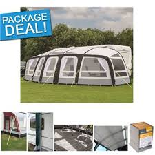 Kampa Caravan Awnings Review Kampa Frontier Air Pro Caravan Awning Package Deal 2017