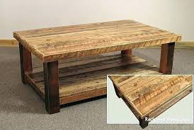 reclaimed wood square coffee table big square coffee table wood wooden tables large thechowdown